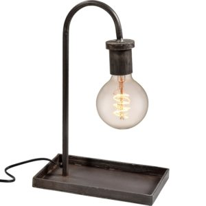 Bordlampe med cool enkelt look