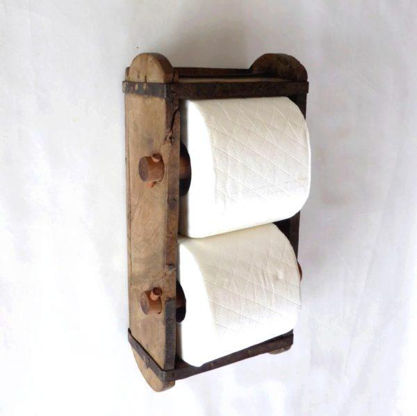 Toiletrulleholder lille, til 2 ruller